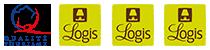 Logo Qualite Tourisme et 3 Logis