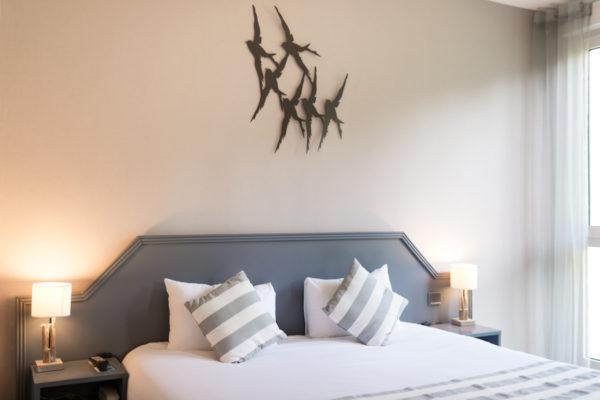 Chambre atlantique hôtel Latitude Ouest