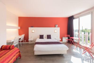 Chambre Duplex Hôtel Latitude Ouest Locronan