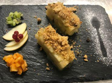restaurant Latitude Ouest -dessert-crumble-aux-pommes