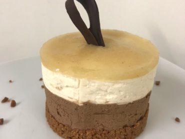 restaurant Latitude Ouest -dessert-bavarois-poires-chocolat