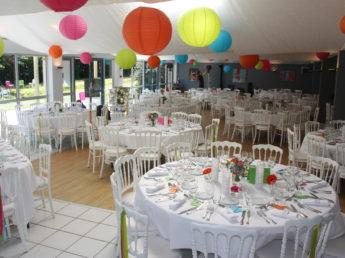 banquet-mariage-salle-repas-decoration à LAtitude Ouest