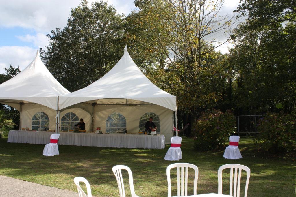 banquet-mariage-cocktails-parc à Latitude Ouest